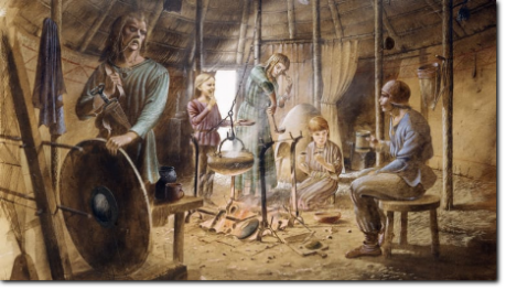 Celtic Worriors in round house